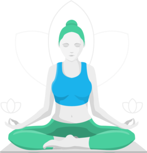 icon image of meditator